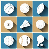 Sport icons set Royalty Free Stock Photo