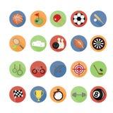 Sport icons set. Royalty Free Stock Image