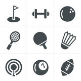 Sport icons Set, Vector Design Stock Photo