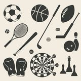 Sport icons set Royalty Free Stock Photos