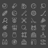 Sport icons set Stock Image