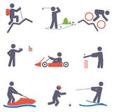 Sport icons. Set for you design Stock Photo