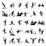 Sport icons Royalty Free Stock Photos