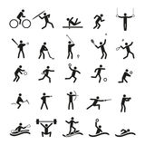 Sport icons vector set Stock Photography