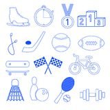 Sport icons vector Royalty Free Stock Photo