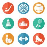 Sport icons. Sport  icons for web and mobile Royalty Free Stock Photography