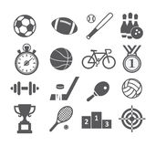 Sport icons Royalty Free Stock Photography