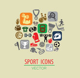 Sport ikona Obraz Stock