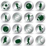 Sport-Ikonen Stockfotografie