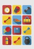 Sport ikony wektorowe ilustracji