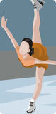 Sport illustration series Royalty Free Stock Photo