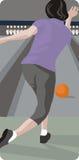 Sport illustration series Royalty Free Stock Image