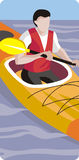 Sport illustration series Royalty Free Stock Images