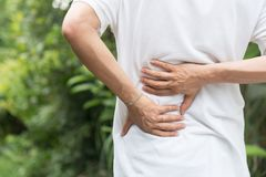 Free Sport Injury, Man With Back Pain Royalty Free Stock Photo - 101524505