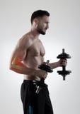Sport injury royalty free stock photo