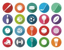 Sport inventory Royalty Free Stock Photos