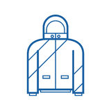 Sport Jacket Outline Icon Stock Photo