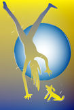 Sport jako sposób życia ciało silny Lekka dusza ilustracji