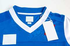 Sport jersey shirt Stock Images