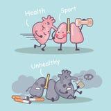 Sport jest dobry dla ciebie ilustracji