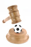 Sport and justice Royalty Free Stock Photos