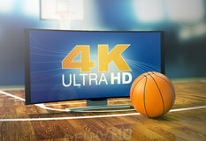 Sport on 4k format Royalty Free Stock Images