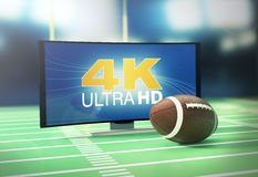 Sport on 4k format Stock Images