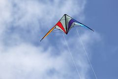 Sport kite royalty free stock image