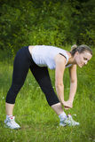 sport kobieta Zdjęcie Royalty Free
