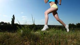 Sport kobieta Fotografia Royalty Free
