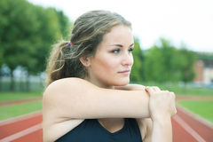 Sport kobieta outside Fotografia Stock