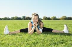 Sport kobieta outside Zdjęcia Royalty Free