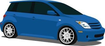 Sport kompakten Scion XA lizenzfreie abbildung