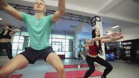 Sport kondition, livsstil stock video