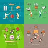 Sport-Konzept des Entwurfes stock abbildung