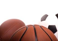 Sport-Kugel-Hintergrund Stockfoto