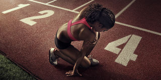 sport löpare Royaltyfria Foton