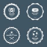Sport Labels Royalty Free Stock Image