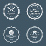 Sport Labels Royalty Free Stock Images