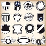 Sport labels  Stock Images