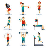 Sport and Leisure People Activities Stock Photography