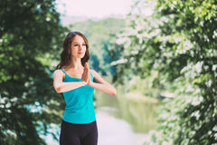 Sport and lifestyle concept. Royalty Free Stock Photo