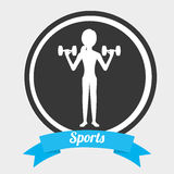 Sport lifestyle Royalty Free Stock Photography