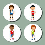 Sport lifestyle Royalty Free Stock Image