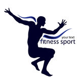Sport logo Royalty Free Stock Image