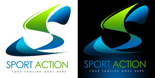 Sport-Logo S Lizenzfreies Stockbild