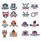 Sport Logo Set royalty illustrazione gratis