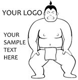 SPORT LOGO SUMO Royalty Free Stock Photography