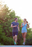 Sport lovers Royalty Free Stock Photography