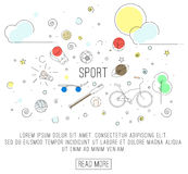 Sport lub zdrowy styl życia Zdjęcia Stock